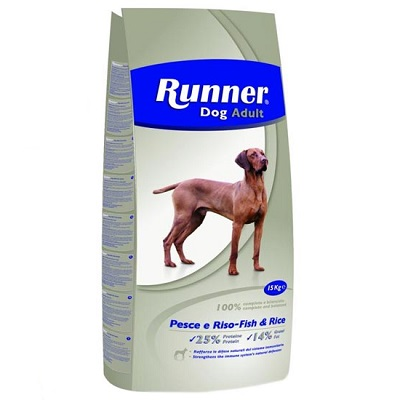 Runner Dog Adult Fish & Rice 15kg