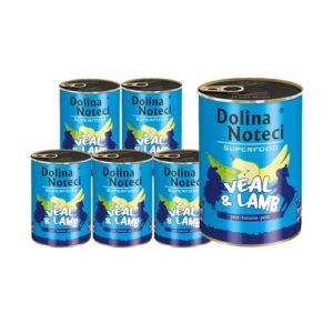 DOLINA NOTECI PREMIUM SUPERFOOD CIELĘCINA I JAGNIĘCINA 6X400 g