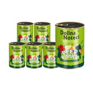 DOLINA NOTECI PREMIUM SUPERFOOD JELEŃ I KACZKA 6X400 g