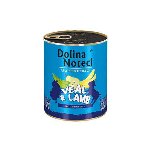 DOLINA NOTECI PREMIUM SUPERFOOD CIELĘCINA I JAGNIĘCINA 400 g