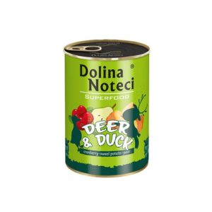 DOLINA NOTECI PREMIUM SUPERFOOD JELEŃ I KACZKA 400 g