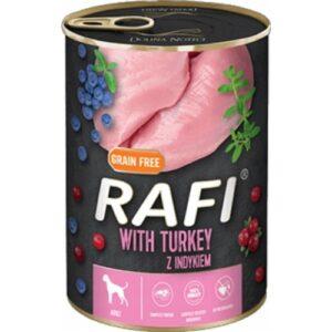 Mokra karma dla psa Rafi z indykiem 400g