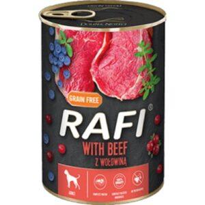 Mokra karma dla psa Rafi z wołowiną 400g