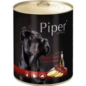 Mokra karma dla psa Piper Animals z wątrobą wołową i ziemniakami 800g