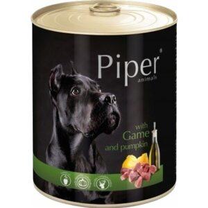 Mokra karma dla psa Piper Animals z dziczyzną i dynią 800g