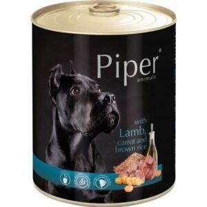 Mokra karma dla psa Piper Animals z jagnięciną i marchewką 800g