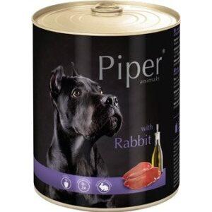 Mokra karma dla psa Piper Animals z królikiem 800g