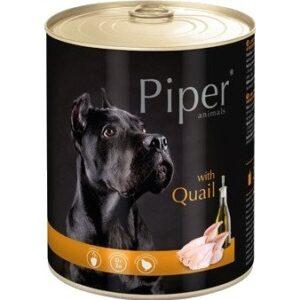 Mokra karma dla psa Piper Animals z przepiórką 800g