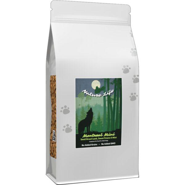 Nature Life Elite MONTREAL MINI jagnięcina z batatami i miętą dla psów ras małych 6kg