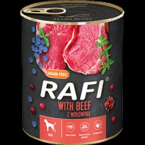 Mokra karma dla psa Rafi z wołowiną 800g
